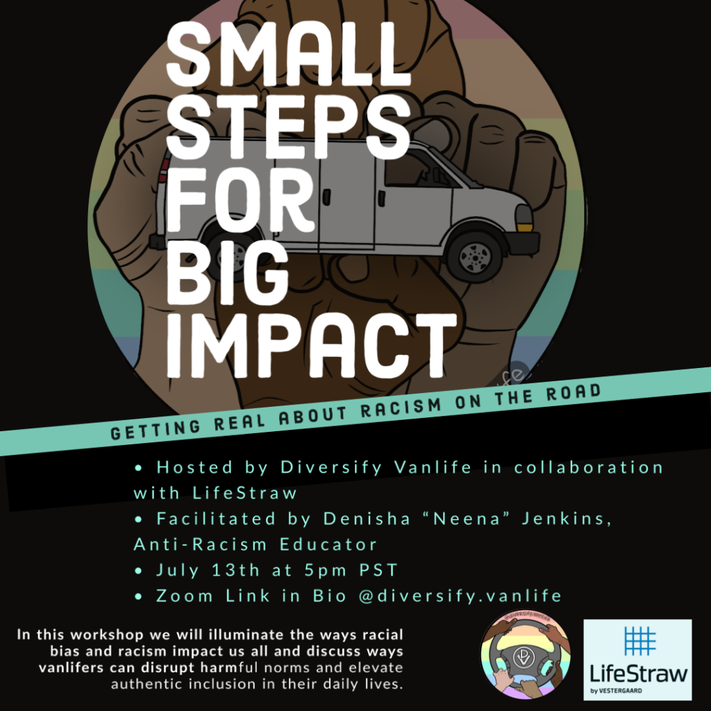 Small steps for big impact flyer